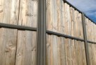 Belconnen Lap and cap timber fencing 2